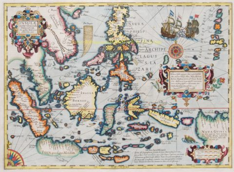 South-East Asia – Gerard Mercator, 1630