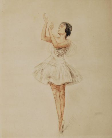 Swan Lake's ballerina – Otto Goetze
