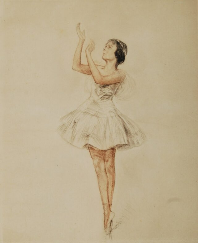 Swan Lake's ballerina - Otto Goetze