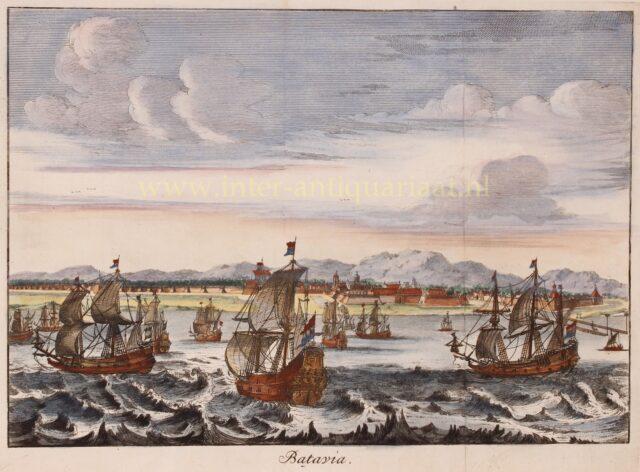 18e-eeuws Batavia