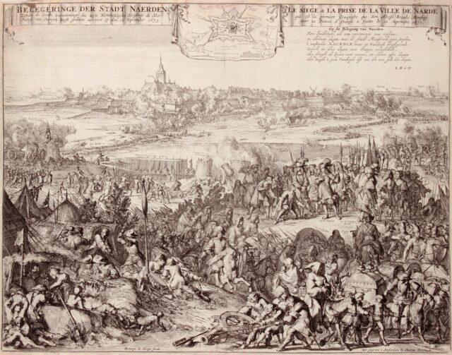 Beleg van Naarden - Romeijn de Hooghe