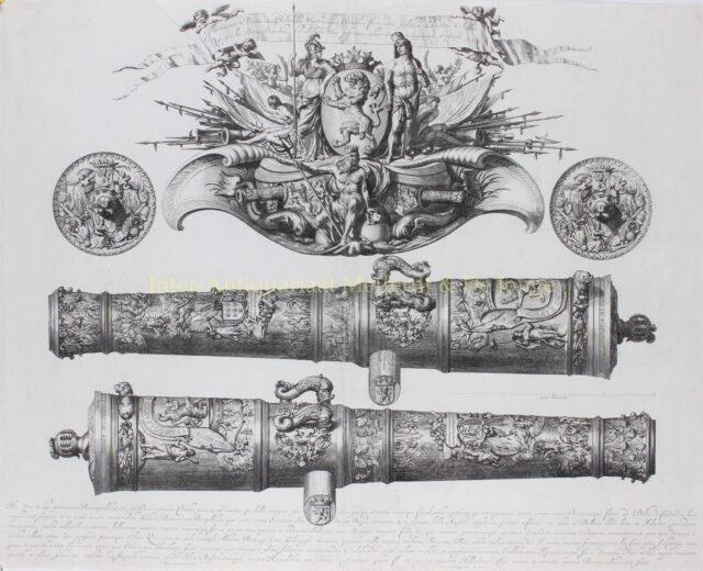 De Benningh-kanonnen - Abraham Blotelingh naar Adriaen van der Velde