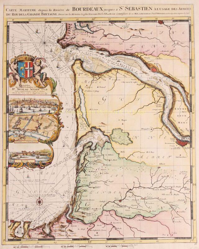 Bordeaux – Romeijn de Hooghe, Pieter Mortier, 1693