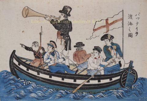 Buitenlanders in Dejima, Japan – 1820-1860
