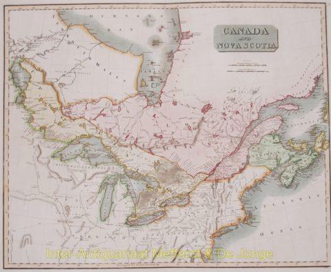 Canada map – Thomson