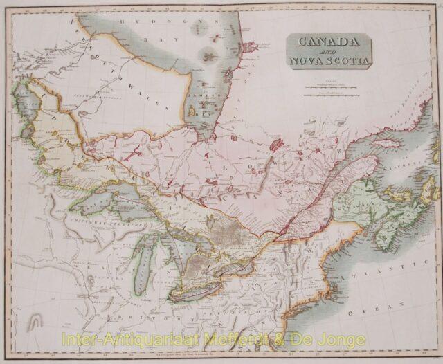 Canada map - Thomson