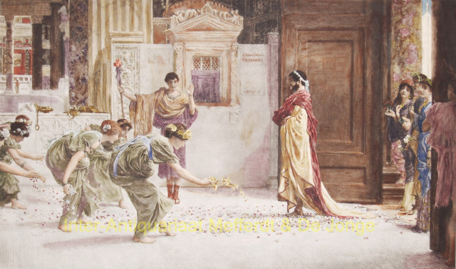 Caracalla AD: 211 - Sir Lawrence Alma-Tadema