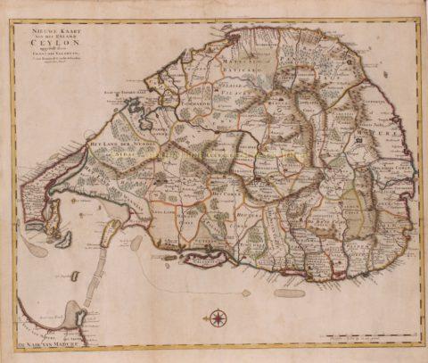 Sri Lanka – François Valentijn, 1724-1726