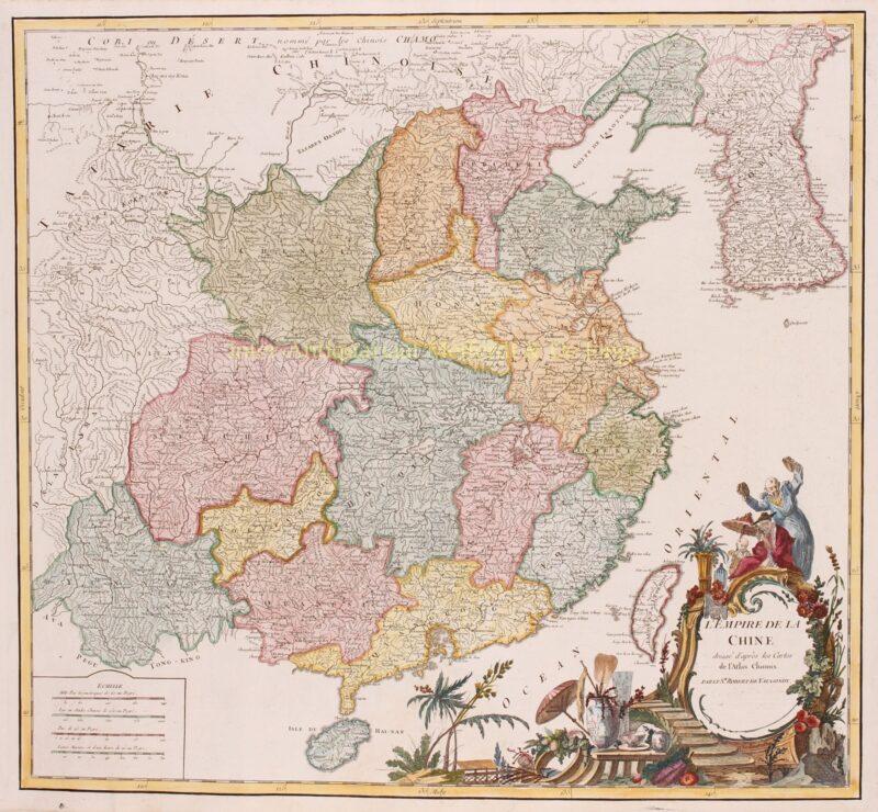 China – Robert de Vaugondy, 1751