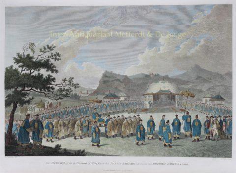 Op audiëntie bij de Keizer van China – naar William Alexander, 1796