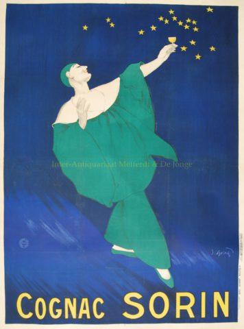 Art Deco advertising poster – Cognac Sorin, 1928