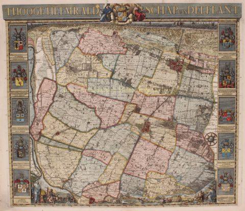 Hoogheemraadschap van Delfland – Cruquius, 1712