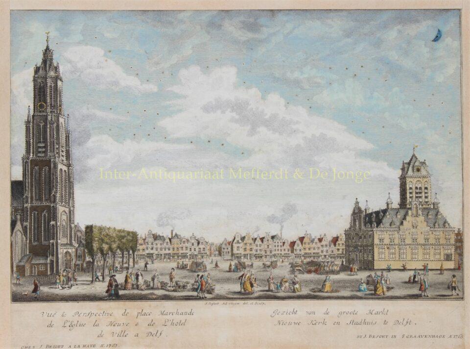 De Markt te Delft - Iven Besoet