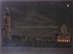 Delft, Grote Markt (verlicht) – Besoet, 1765