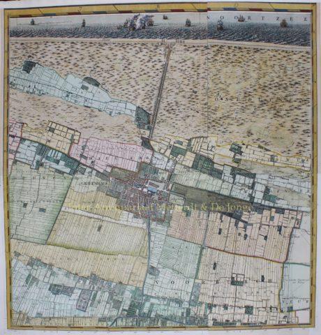 Den Haag, Scheveningen, Wassenaar, Voorburg, Rijswijk – Cruquius, 1712