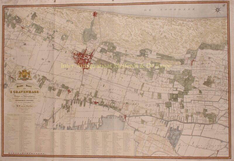 Den Haag en Wassenaar – Simon Willem van der Noordaa, 1844