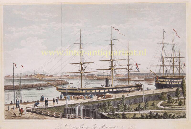 Den Helder – Armand naar J.C. Lach, 1873