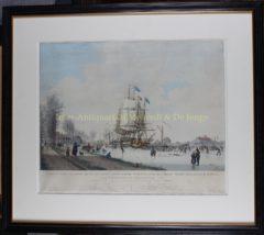 Doorijzing Nordhollandsch Kanaal (lijst) – Hoogkamer naar Koekkoek, 1830