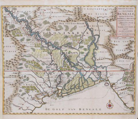 India, Bangladesh, Koninkrijk Bengalen – François Valentijn, 1724-1726