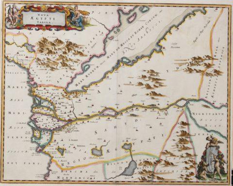 Egypt and the Gulf – Olfert Dapper, c. 1670