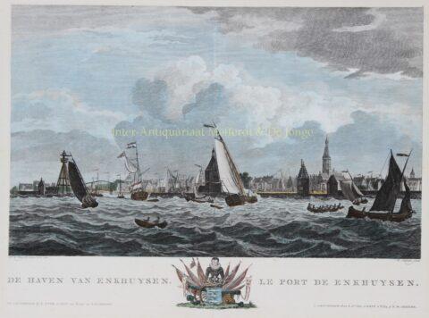Enkhuizen – Matthias de Sallieth naar Dirk de Jong, 1802