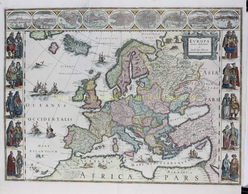 Europe - Willem Blaeu
