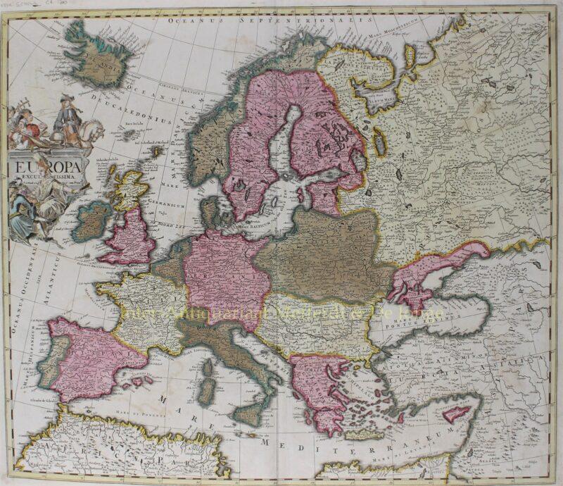 Europa – Pieter Schenk, ca. 1700