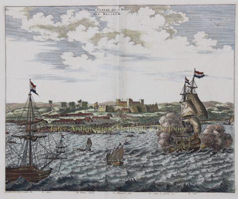 West-Indische Compagnie (Guyana) – Pieter van der Aa, ca. 1729