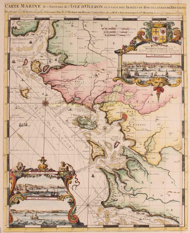Frankrijk, Charente-Maritime – Romeijn de Hooghe +  Pieter Mortier, 1693