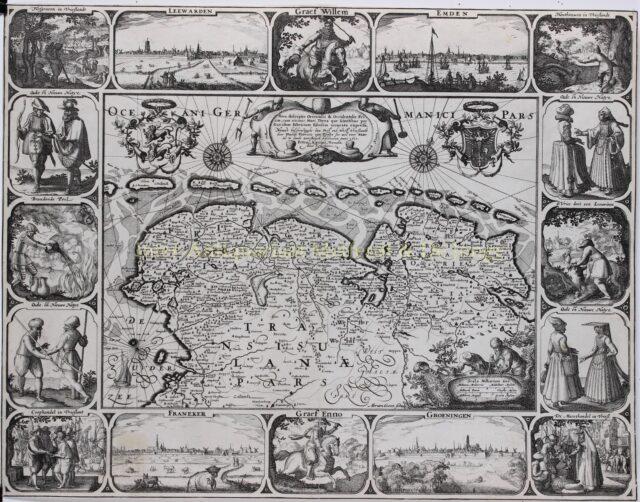Land van de Friezen - Pieter van den Keere