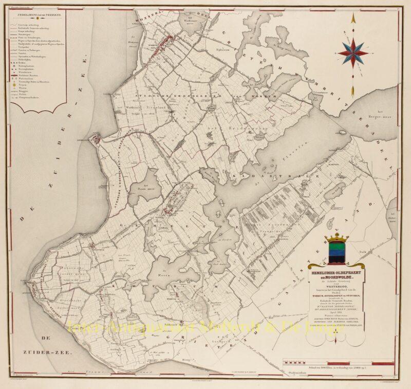 Friesland, Hemelumer Oldephaert en Noordwolde – Eekhoff, 1851