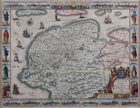 Friesland – Nicolaes van Geelkercken (Frederik de Wit), 1665