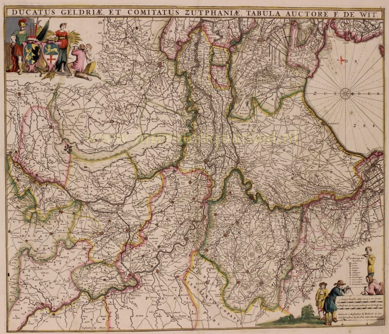 Hertogdom Gelre en Graafschap Zutphen – Frederick de Wit, 1690