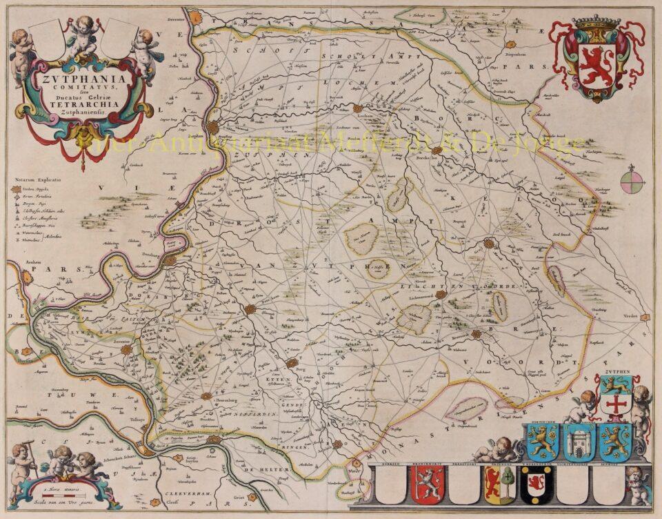 Graafschap Zutphen - Joan Blaeu