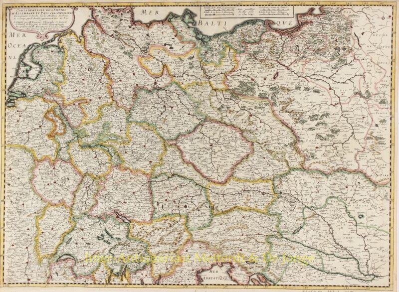 Germany, Low Countries, Poland, Baltics – Melchior Tavernier, 1645