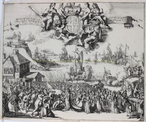 Glorious Revolution / Glorieuze Overtocht – Romeijn de Hooghe, 1689