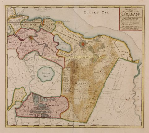 Het Gooi – Isaak Tirion, 1750