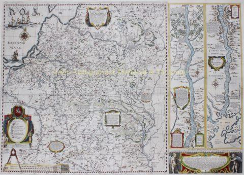 Groothertogdom Litouwen – Willem Blaeu, 1613
