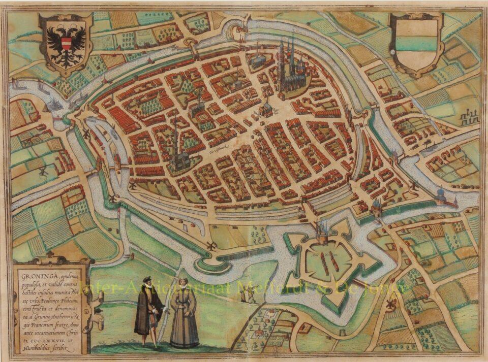 Groningen - Braun & Hogenberg