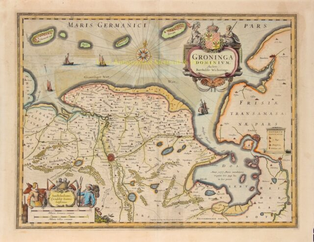 Groningen en Ommelanden - Johannes Janssonius
