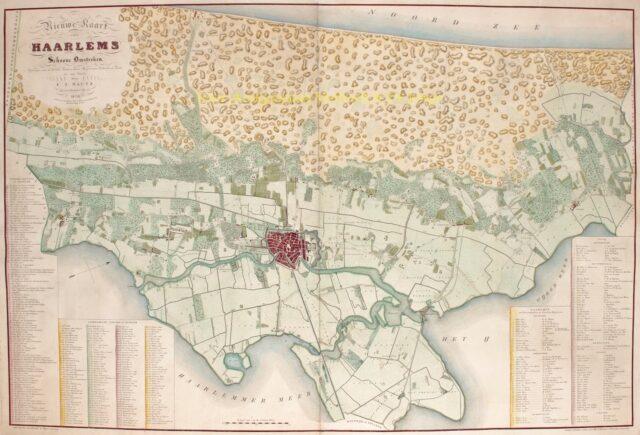 Omgeving Haarlem - 1836