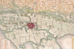 Haarlem en omstreken (detail) – Van Baarsel naar Nautz, 1836