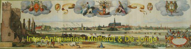 Haarlem panorama - naar Pieter de Molijn