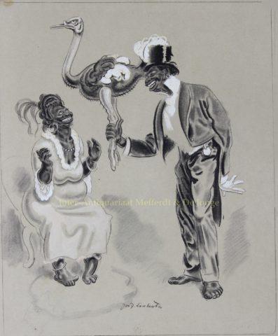 """Der Hochzeitsstrauß"" – Josef Loukota (Meggendorfer Blätter), 1915"
