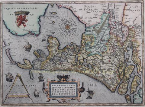 Holland – Abraham Ortelius, 1592-1594