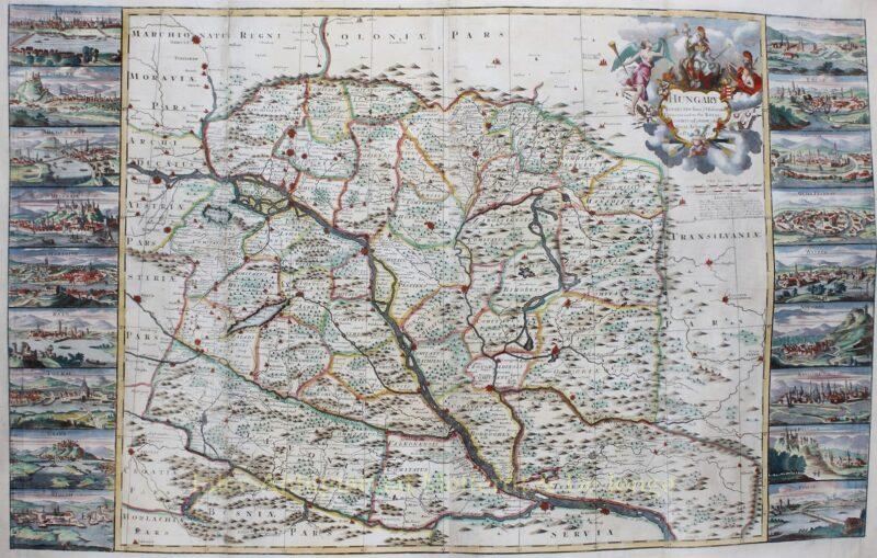 Hongarije – George Willdey, ca. 1720