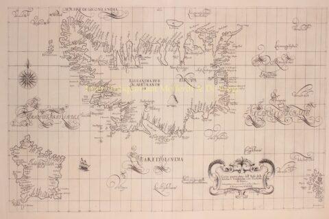 IJsland, Frisland, Faeröer – Robert Dudley, 1646-1647