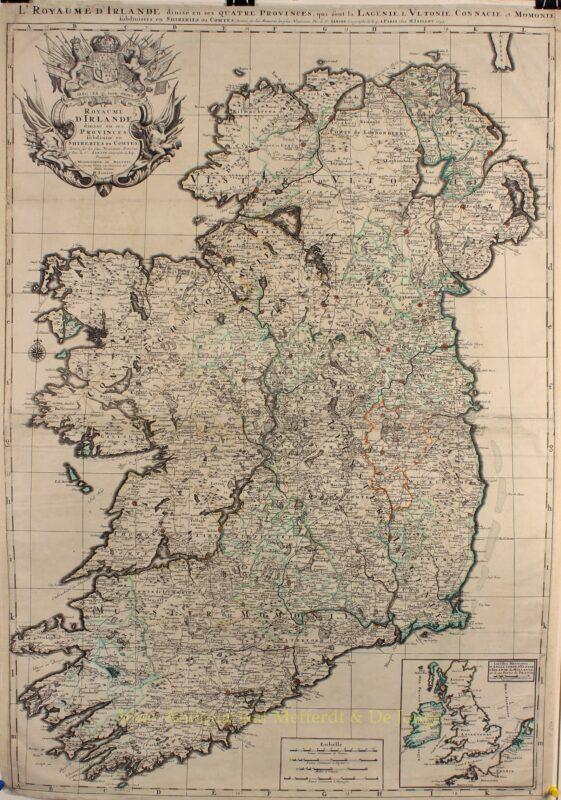 Ireland – Alexis-Hubert Jaillot, 1693