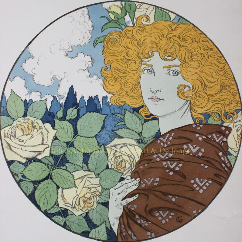 Jalousie – Eugène Grasset, 1897