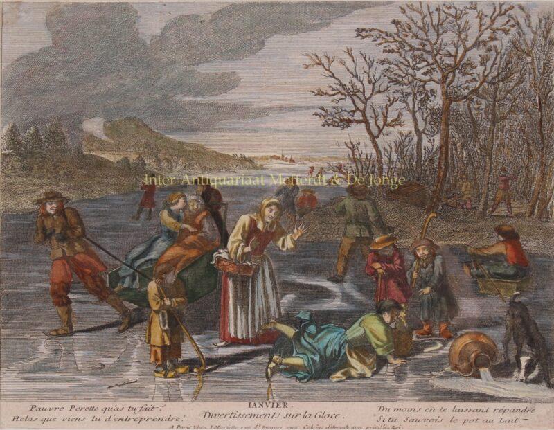 Januari – Jean Mariette, eind 17de-/begin 18de eeuw